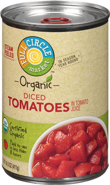 Full Circle Organic Diced Tomatoes