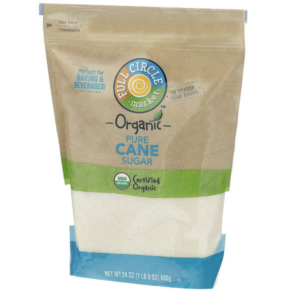 Full Circle Organic Pure Cane Sugar