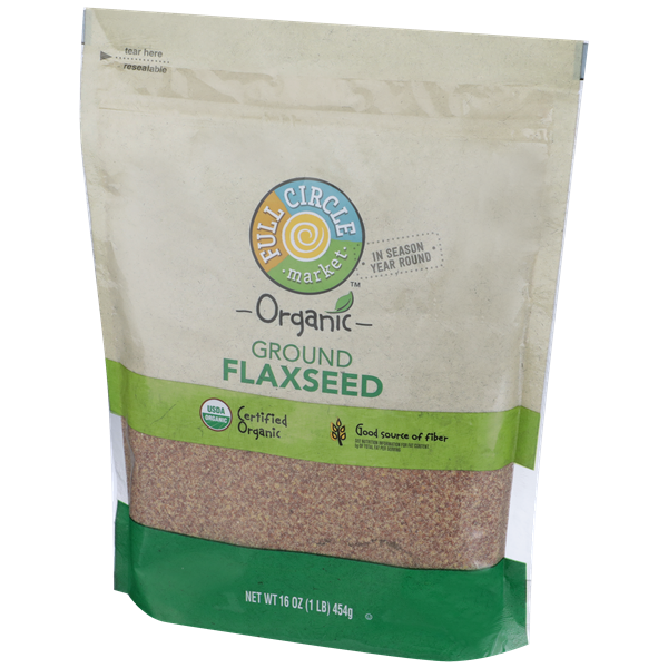 Full Circle Organic Ground Flaxseed