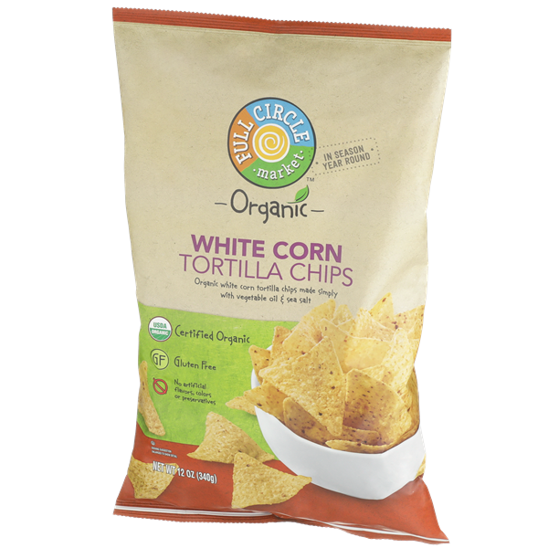 Full Circle Organic White Corn Tortilla Chips