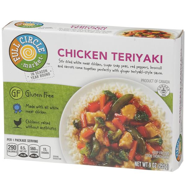 Full Circle Gluten Free Chicken Teriyaki