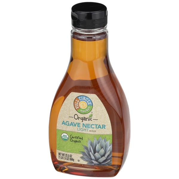 Full Circle Organic Agave Nectar Light