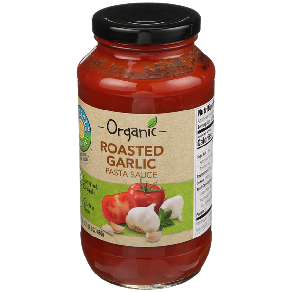 Full Circle Organic Roasted Garlic Pasta Sauce