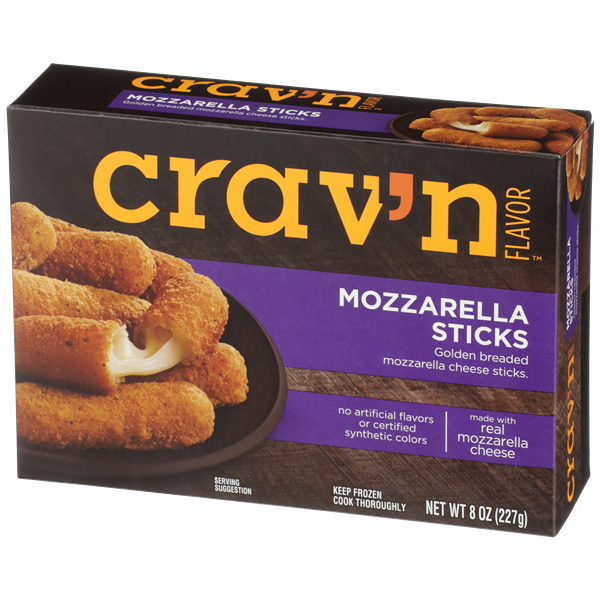 Crav'N Flavor Mozzarella Sticks