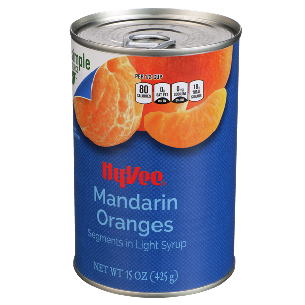 Hy-Vee Mandarin Oranges in Light Syrup