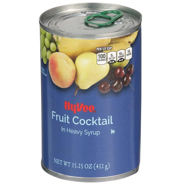 Hy-Vee Fruit Cocktail In Heavy Syrup
