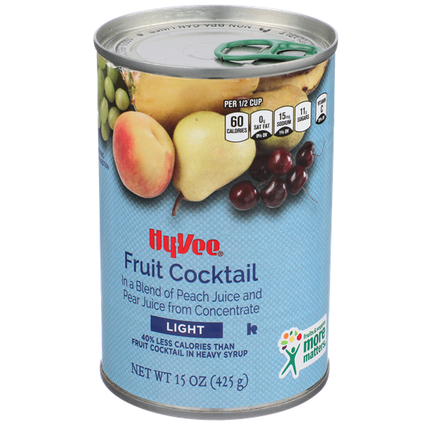 Hy-Vee Light Fruit Cocktail
