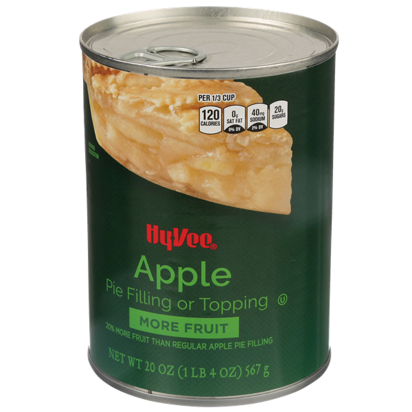 Hy-Vee More Fruit Apple Pie Filling Or Topping