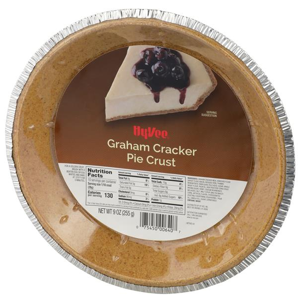 Hy-Vee Graham Cracker Pie Crust