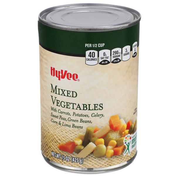 Hy-Vee Mixed Vegetables