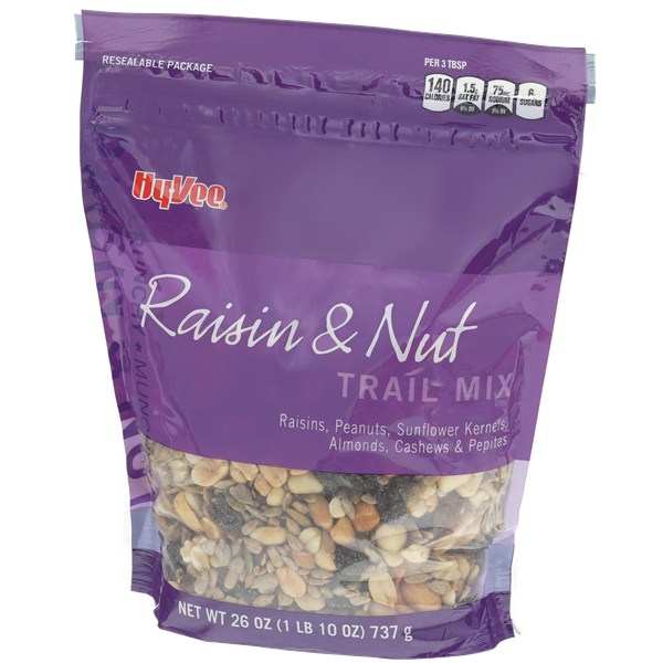 Hy-Vee Raisin & Nut Trail Mix