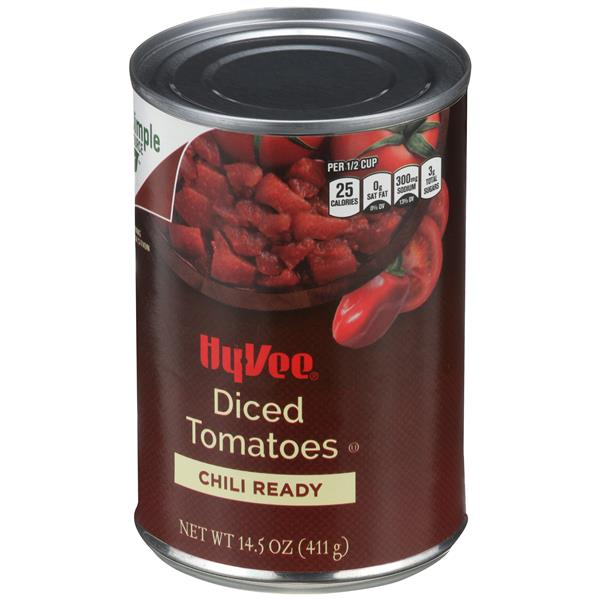 Hy-Vee Chili Ready Diced Tomatoes