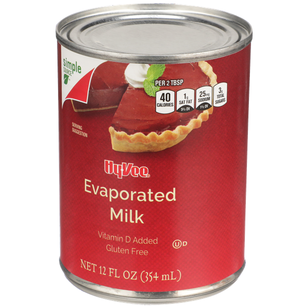 Hy-Vee Evaporated Milk