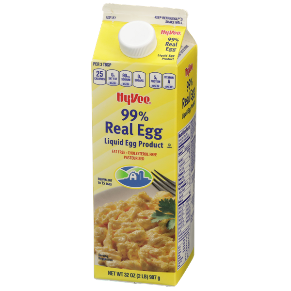 Hy-Vee 99% Real Egg Liquid Egg