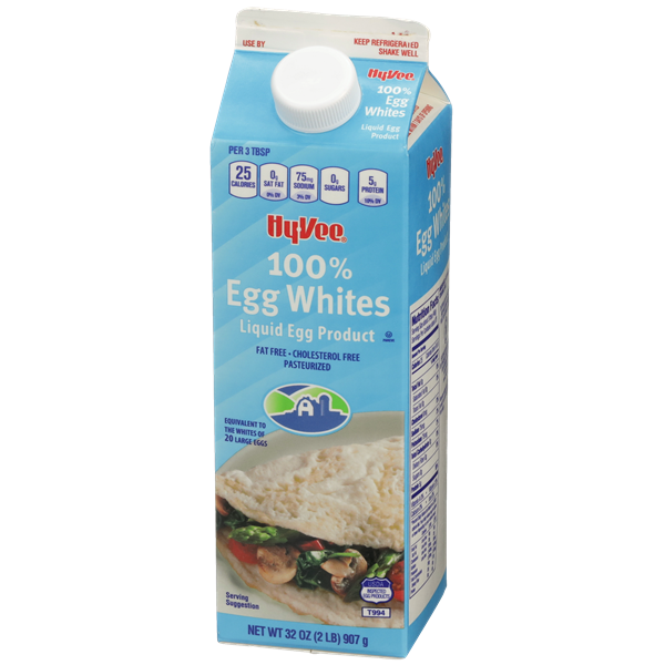 Hy-Vee 100% Egg Whites