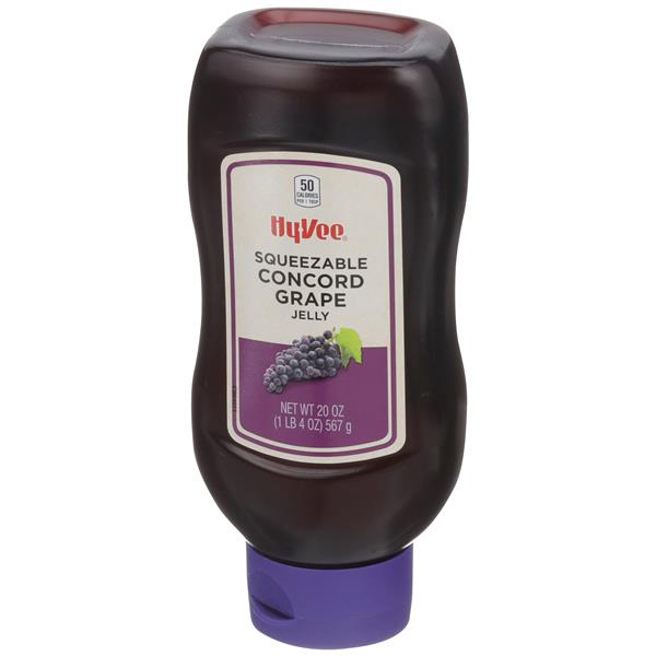 Hy-Vee Squeezable Grape Jelly