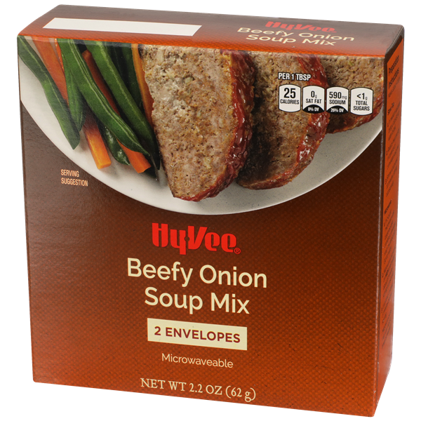 Hy-Vee Beefy Onion Soup Mix 2Ct