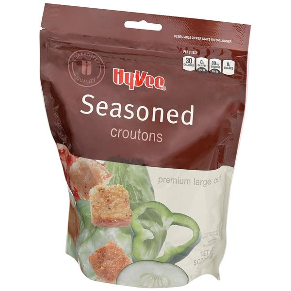 Hy-Vee Seasoned Croutons