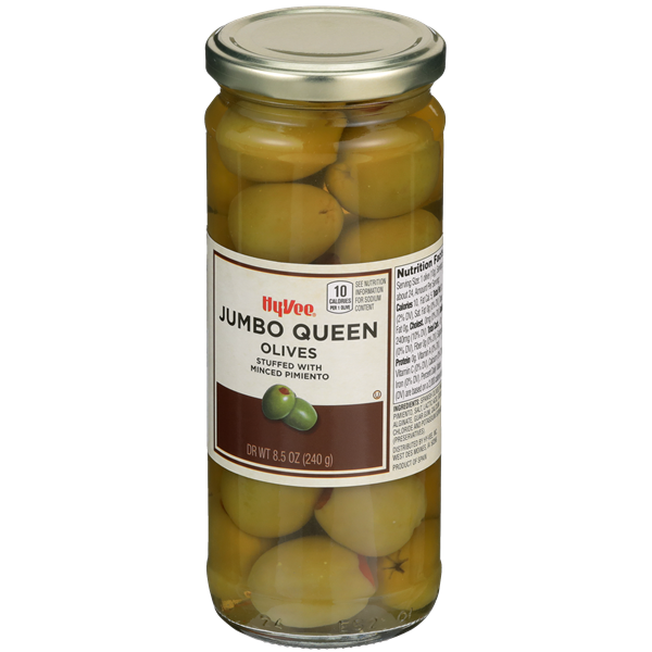 Hy-Vee Jumbo Queen Olives