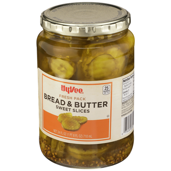 Hy-Vee Bread & Butter Sweet Pickle Slices