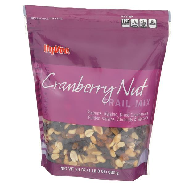 Hy-Vee Cranberry Nut Trail Mix