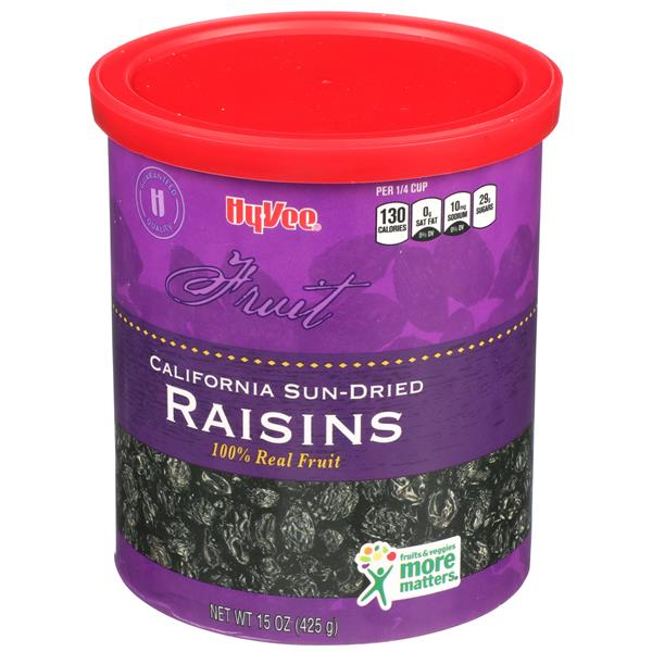 Hy-Vee Raisins California Sun-Dried