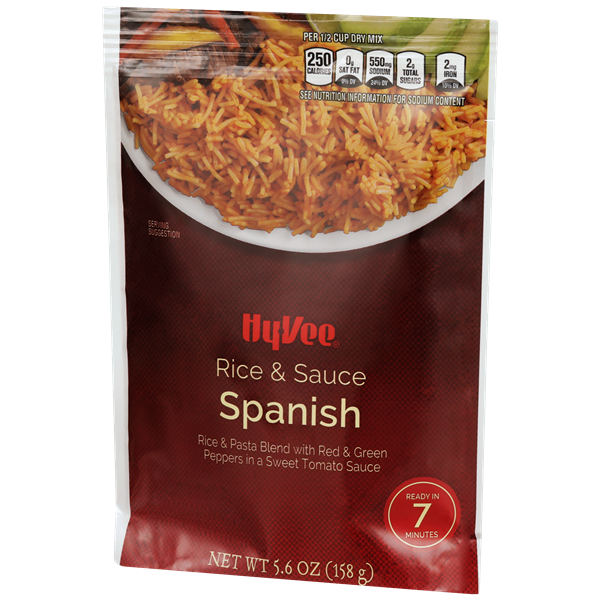 Hy-Vee Spanish Rice & Sauce