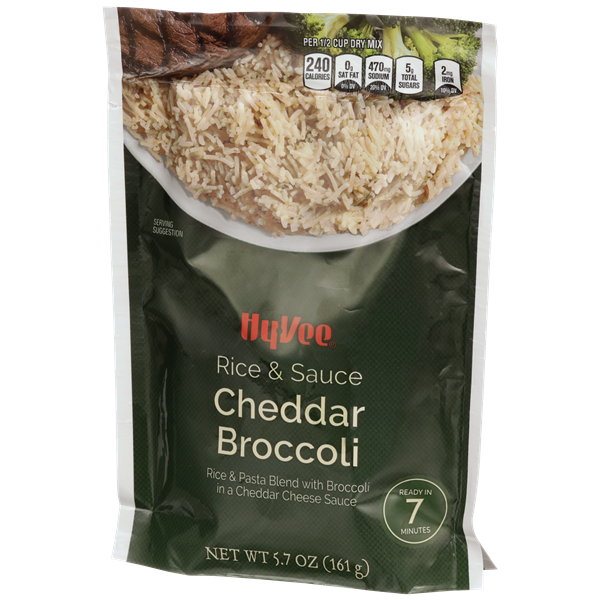 Hy-Vee Cheddar Broccoli Rice & Sauce