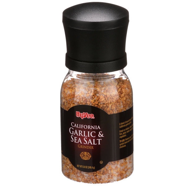 Hy-Vee California Garlic & Sea Salt Grinder