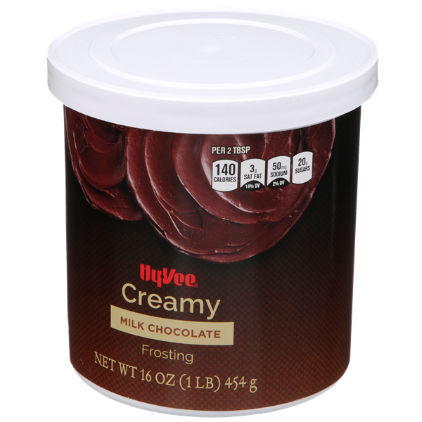 Hy-Vee Creamy Milk Chocolate Frosting