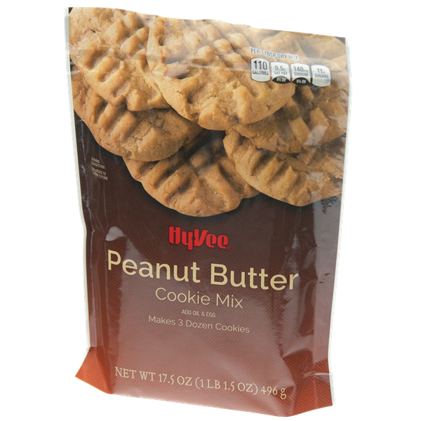 Hy-Vee Peanut Butter Cookie Mix