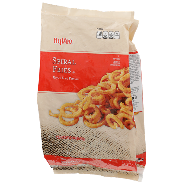 Hy-Vee Spiral Fries