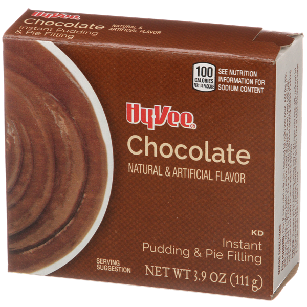 Hy-Vee Instant Chocolate Pudding & Pie Filling