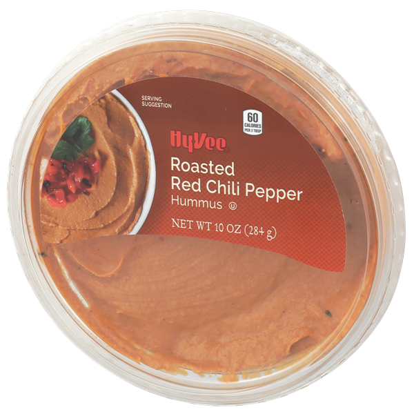Hy-Vee Select Roasted Red Chili Pepper Hummus