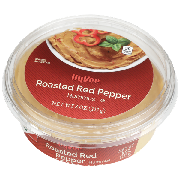 Hy-Vee Roasted Red Pepper Hummus