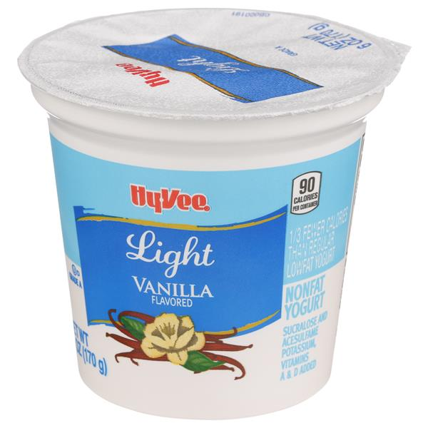 Hy-Vee Light Vanilla Yogurt
