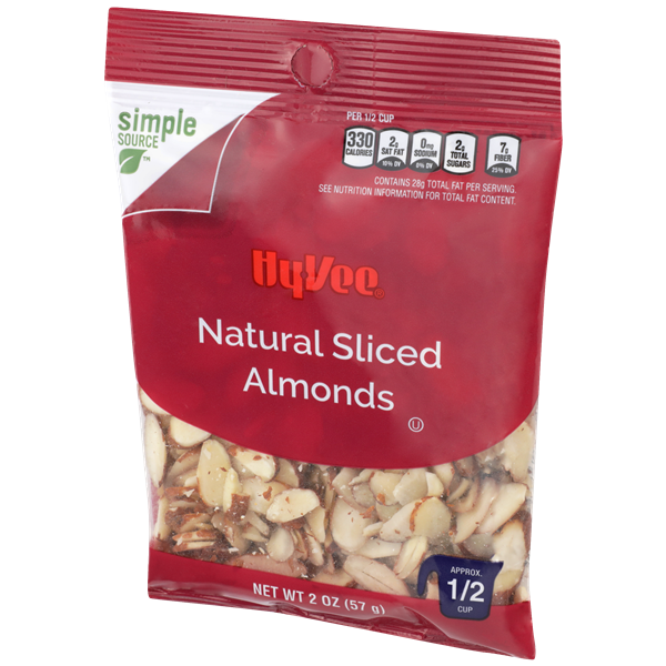 Hy-Vee Natural Sliced Almonds