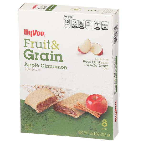 Hy-Vee Fruit & Grain Apple Cinnamon Cereal Bars