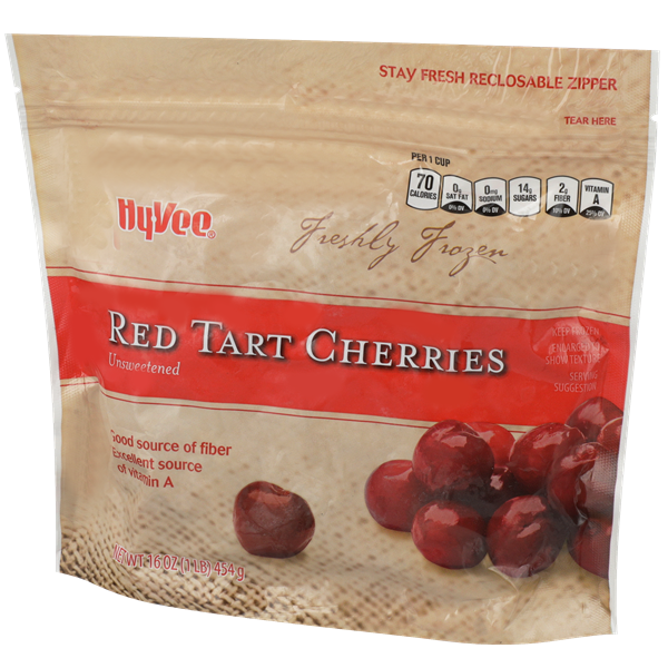 Hy-Vee Unsweetened Red Tart Cherries