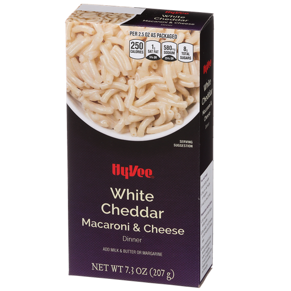 Hy-Vee White Cheddar Macaroni & Cheese Dinner