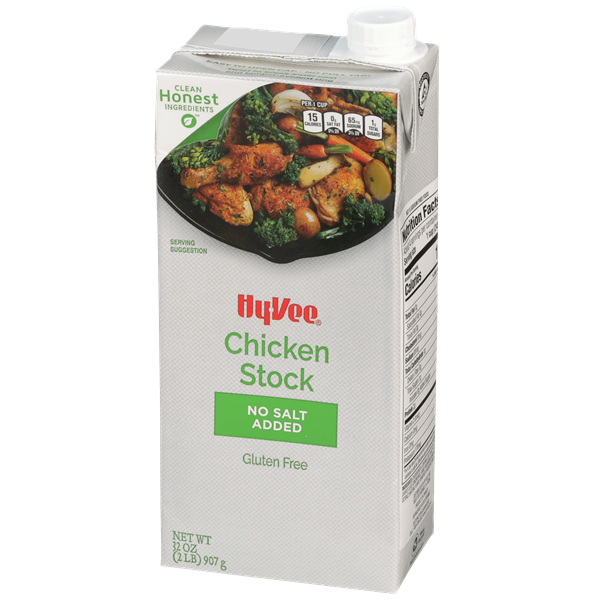 Hy-Vee Chicken Stock No Salt Added