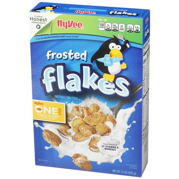 Hy-Vee One Step Frosted Flakes
