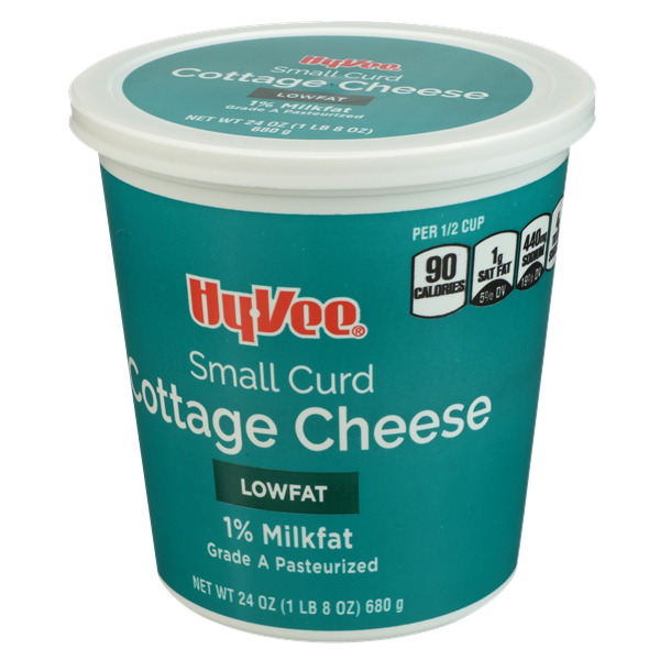 Hy-Vee 1% Lowfat Small Curd Cottage Cheese