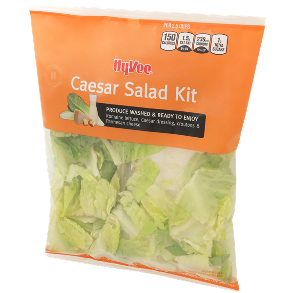 Hy-Vee Caesar Salad Kit Salad Mix