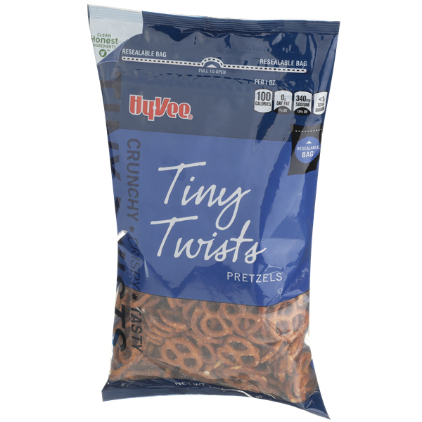 Hy-Vee Tiny Twists Pretzels