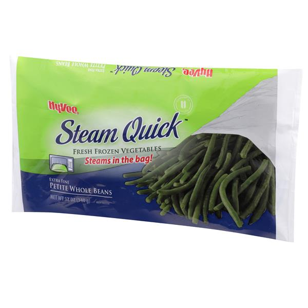 Hy-Vee Steam Quick Extra Fine Petite Whole Beans