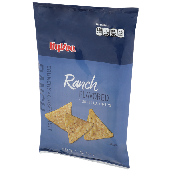 Hy-Vee Ranch Flavored Tortilla Chips