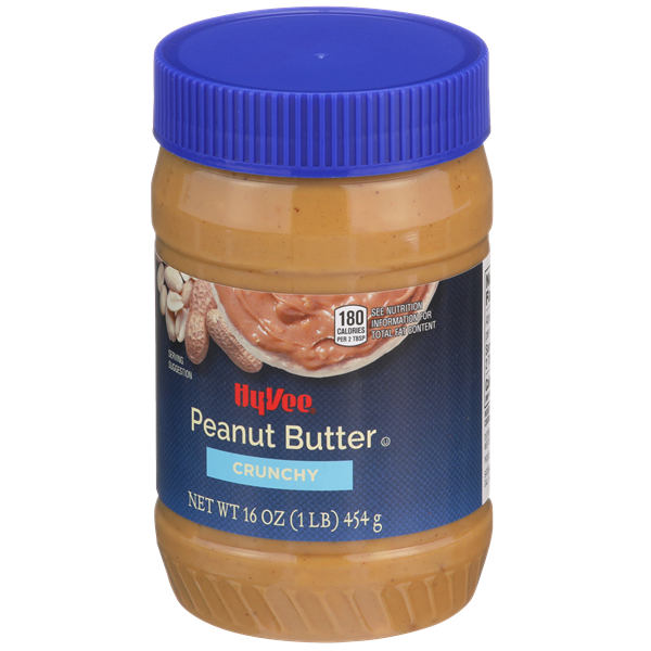 Hy-Vee Crunchy Peanut Butter