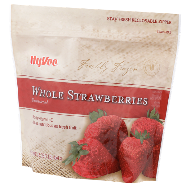 Hy-Vee Whole Strawberries Unsweetened