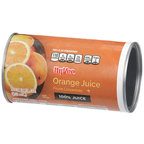 Hy-Vee 100% Orange Juice Concentrate